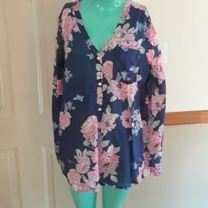 Size large old navy tunic